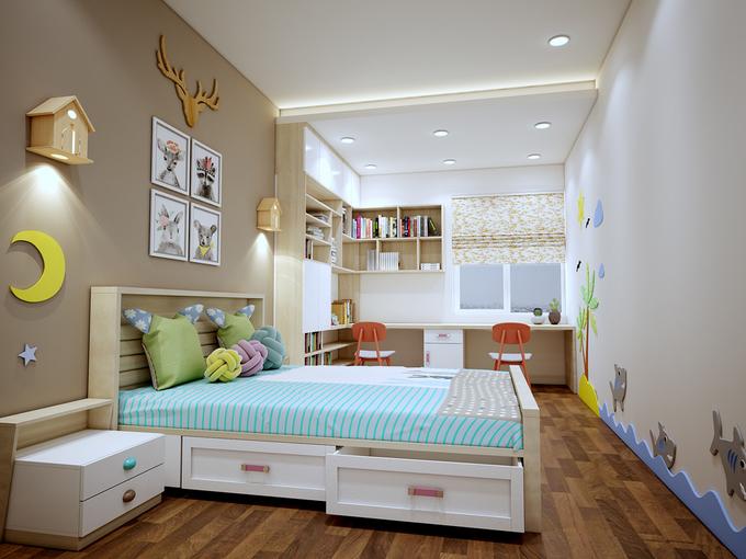 hoàn thiện nội thất chung cư