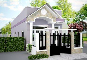 mẫu nhà 1 tầng đơn giản