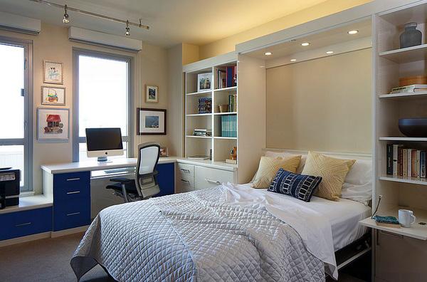 phòng ngủ nhà phố 1 tầng đẹp