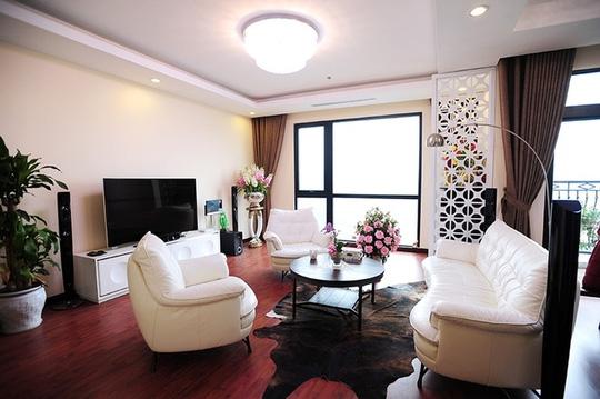 phòng khách nội thất chung cư cao cấp