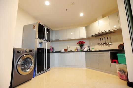 bếp nội thất chung cư cao cấp