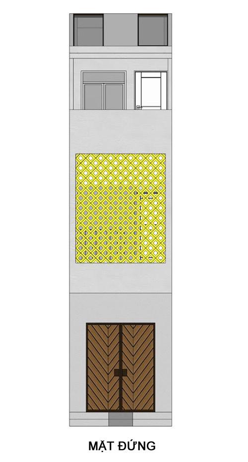 thiết kế nhà ống