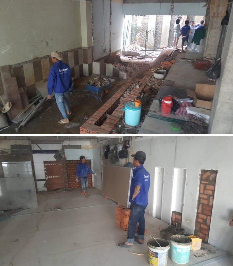 cải tạo nhà cũ