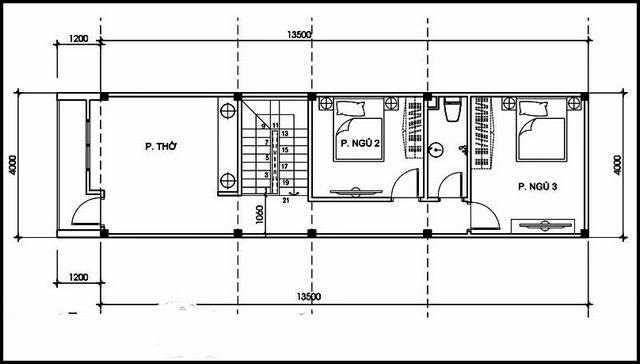 nhà phố 1 trệt 1 lầu 4x12m