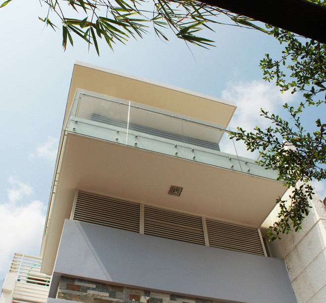 nhà ống 2 tầng 88m2 thiết kế giản dị
