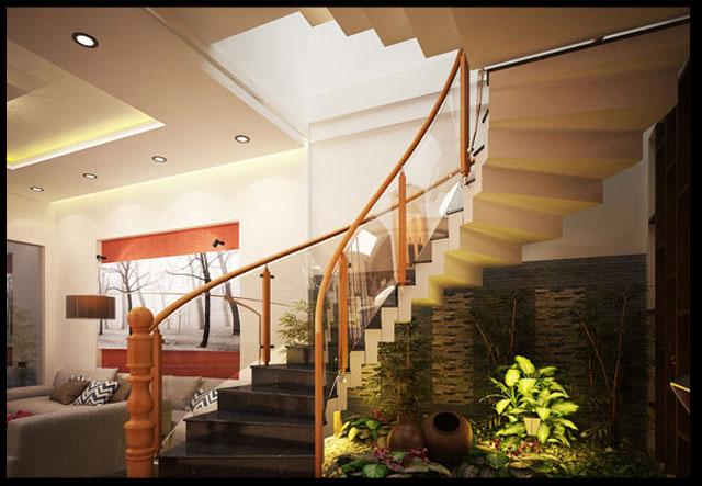 thiết kế nhà ống 3 tầng 1 tum