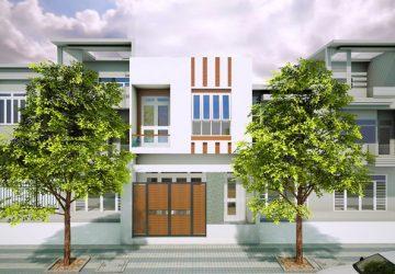 xây dựng nhà phố 2 tầng 6x20m