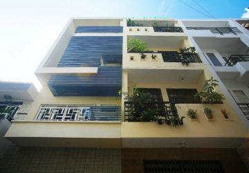nhà phố 3 tầng mặt tiền 4m