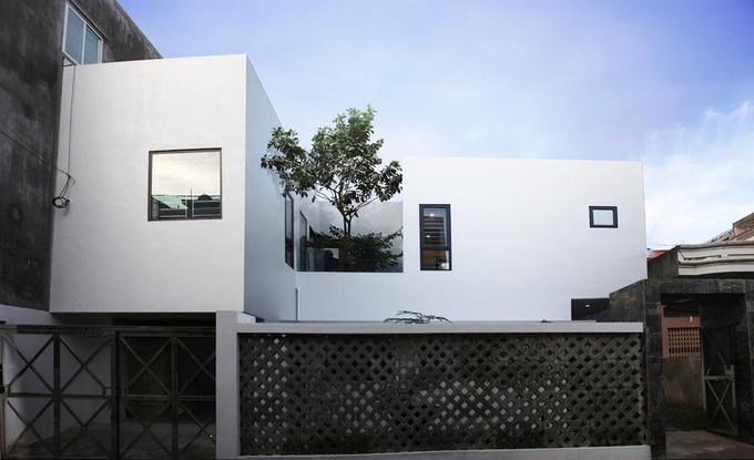 thiết kế nhà phố đẹp độc đáo
