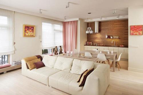 không gian phòng khách