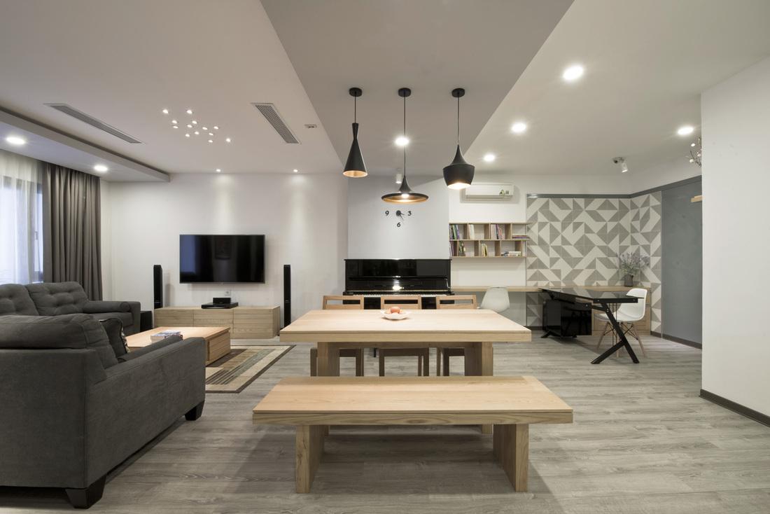 hoàn thiện nội thất nhà phố xây thô