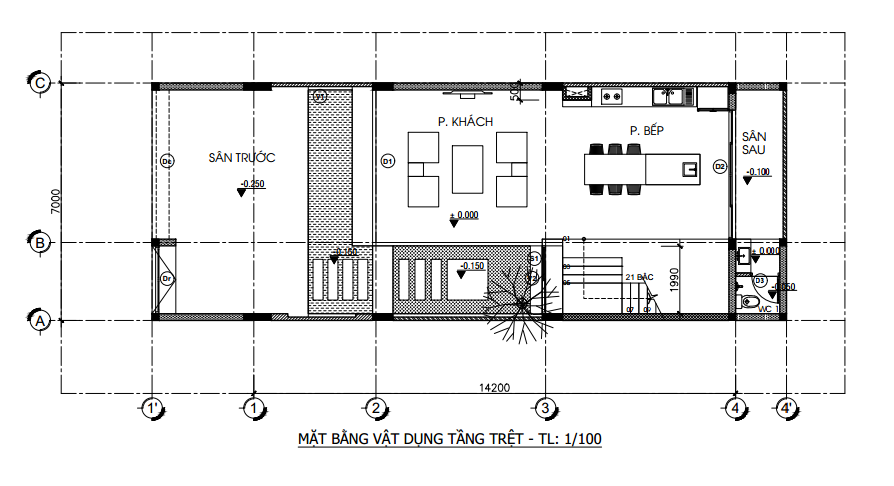 nhà phố 4 tầng 7x14 tại quận 7