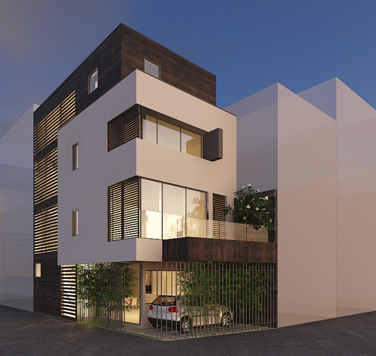 Cải tạo nhà phố 4 tầng tại Tân Bình
