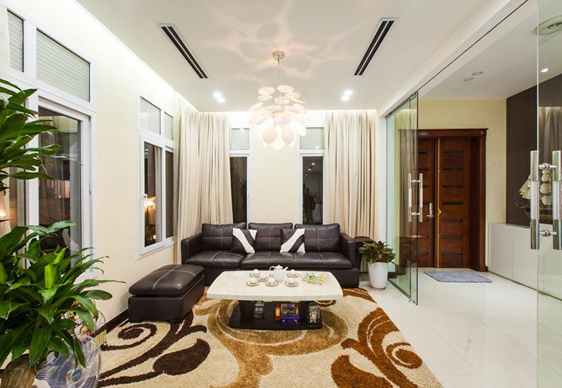 không gian nội thất nhà 3 tầng