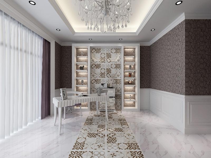 gạch bông trong thiết kế nhà