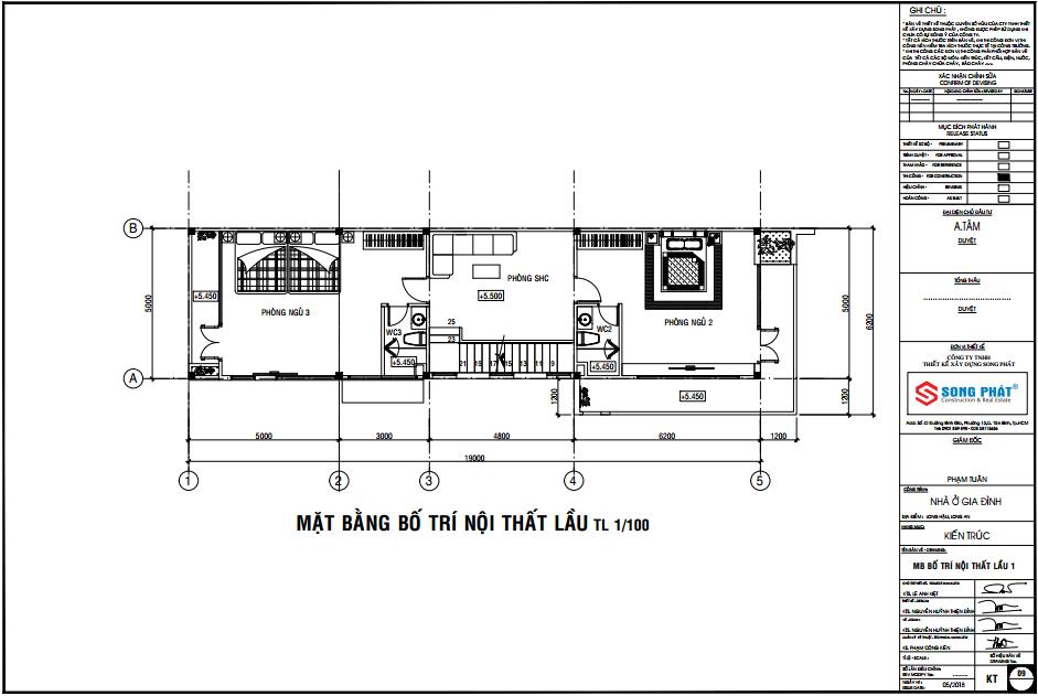 nhà phố 2 tầng 5x20m tại long an