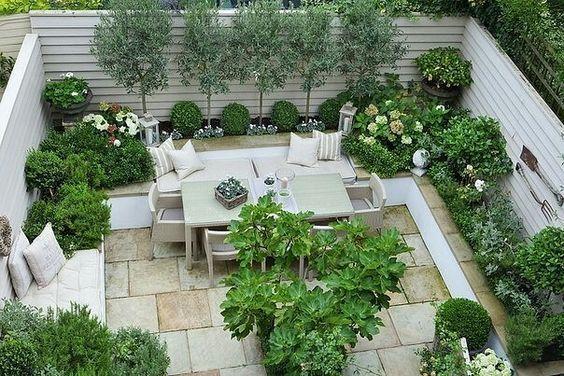 thiết kế vườn sân thượng đẹp