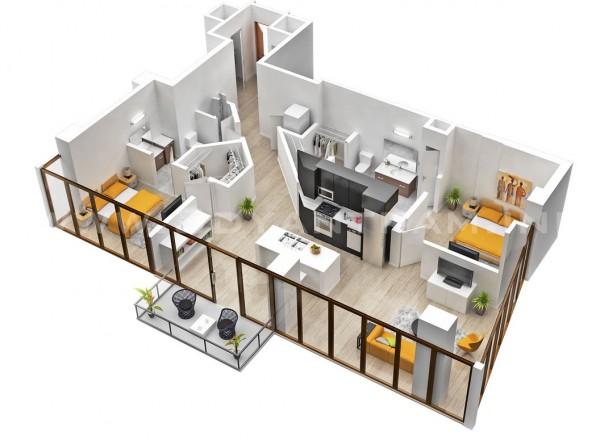 nội thất chung cư đẹp cho gia đình trẻ