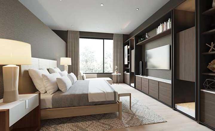 phòng ngủ đẹp cho vợ chồng trẻ, nội thất phòng ngủ