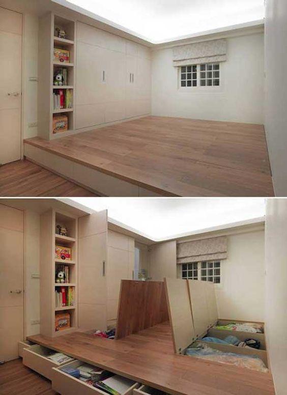 4-9 7 ý tưởng thiết kế không gian nội thất giúp nhà cửa luôn gọn gàng