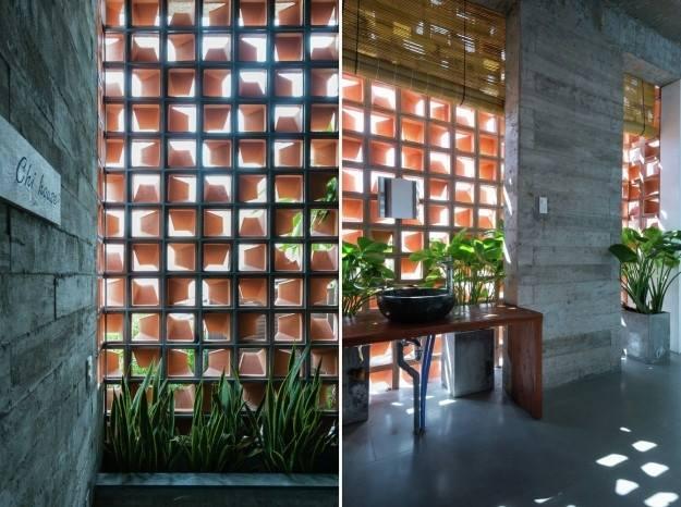 cách lấy sáng cho nhà phố hiện đại