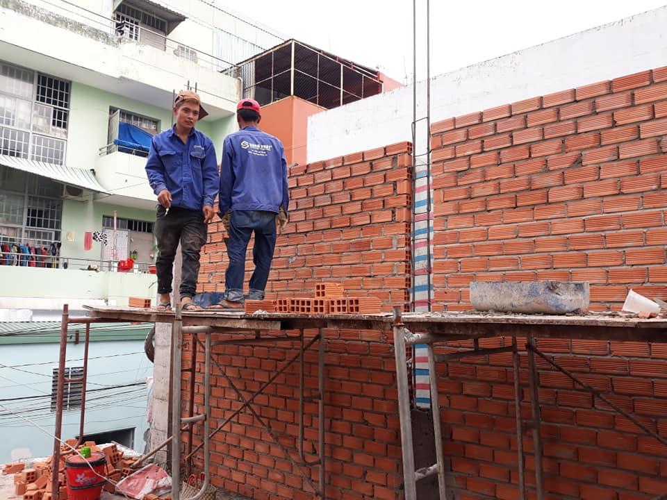 chi phí xây dựng nhà 3 tầng tại quận 6