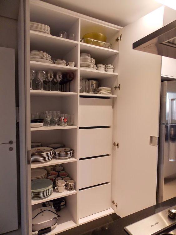 sắp xếp không gian bếp gọn gàng