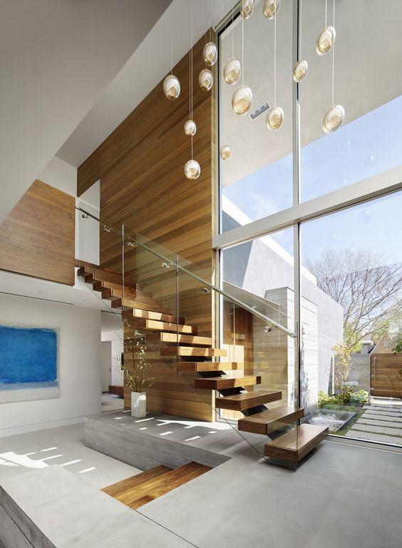 mẫu thiết kế cầu thang đẹp cho nhà phố