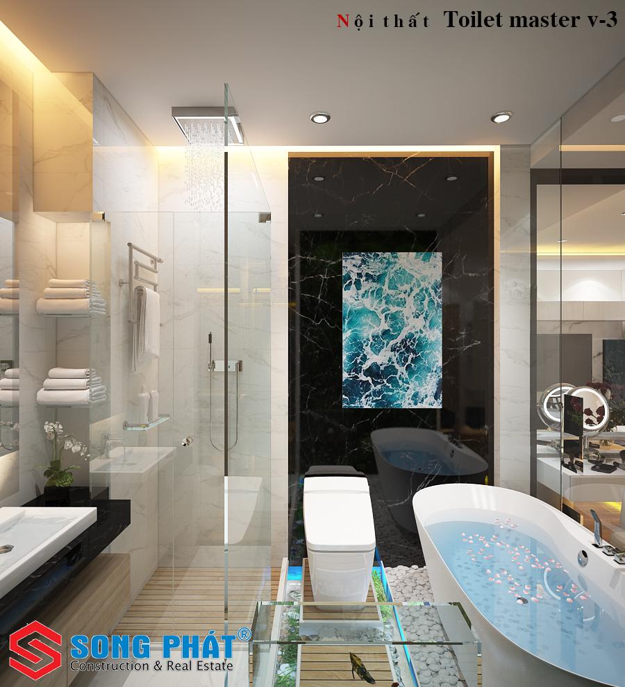 thiết kế phòng tắm đẹp