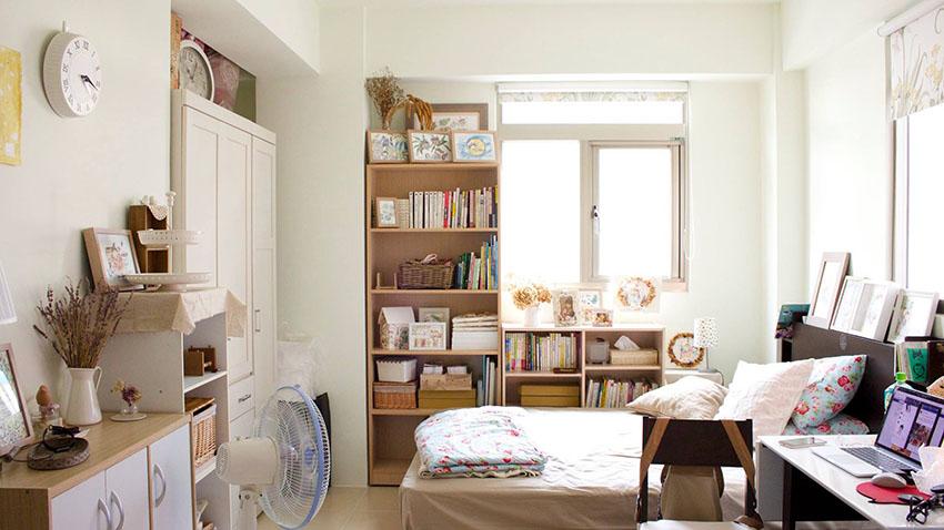 thiết kế nội thất phòng trọ nhỏ