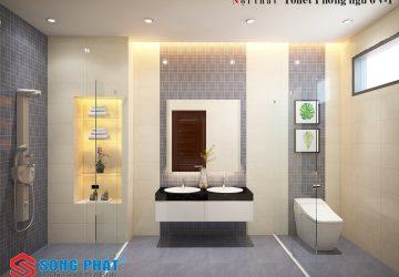 mẫu nội thất phòng tắm đẹp
