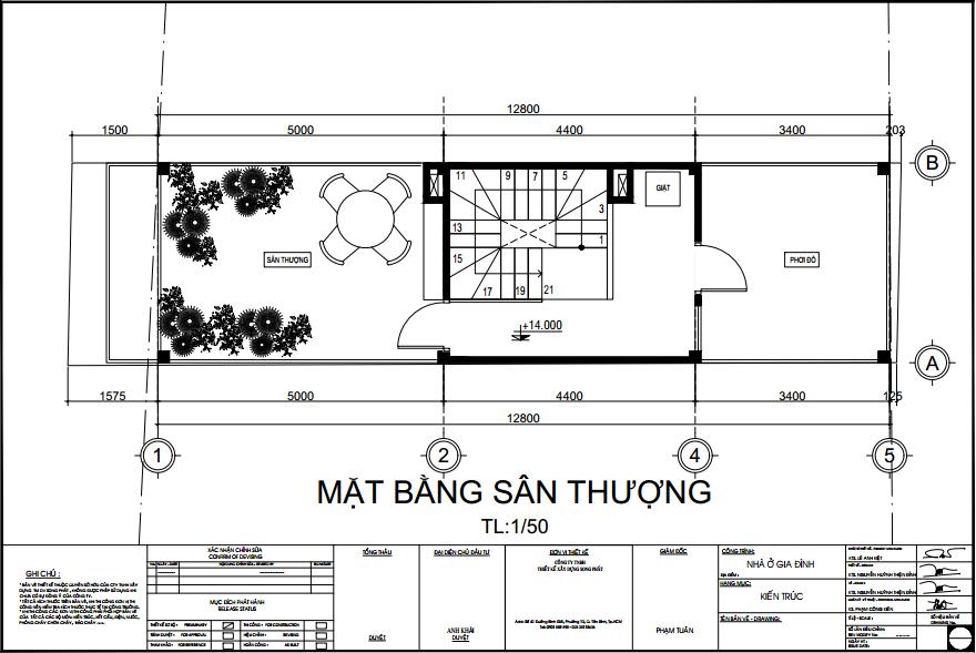 mẫu bản vẽ thiết kế nhà phố hiện đại 2020