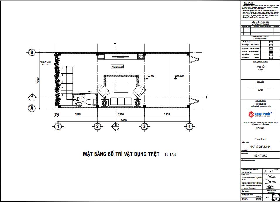 mẫu nhà ống 4 phòng ngủ
