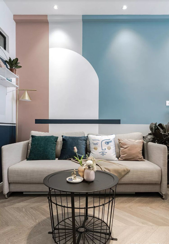 nội thất căn hộ chung cư, nội thất gỗ ấm áp