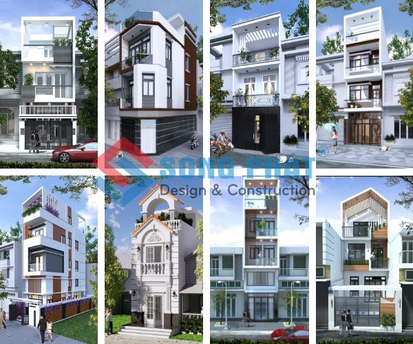 Bản vẽ thiết kế nhà phố năm 2020