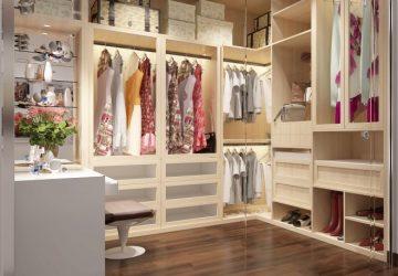 mẫu thiết kế phòng thay đồ đẹp