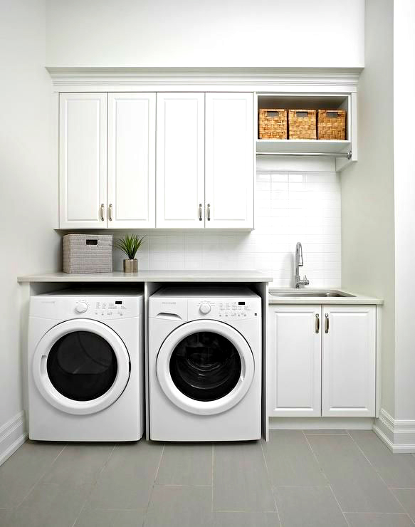 phòng giặt đồ gia đình cho nhà nhỏ