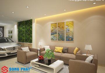 thiết kế nội thất không gian nhỏ