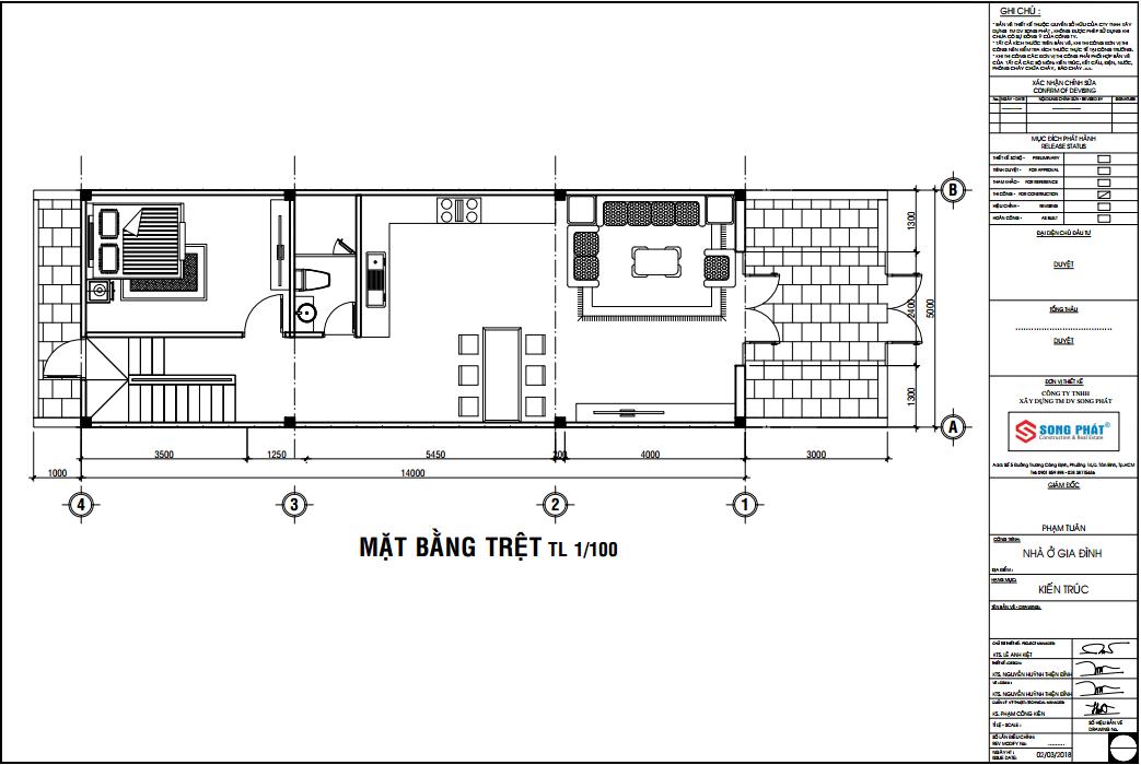 chi phí xây dựng nhà phố 2 tầng