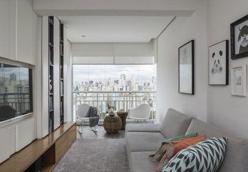 mẫu thiết kế căn hộ 57m2