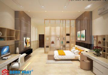 thiết kế phòng ngủ phong thủy 2019