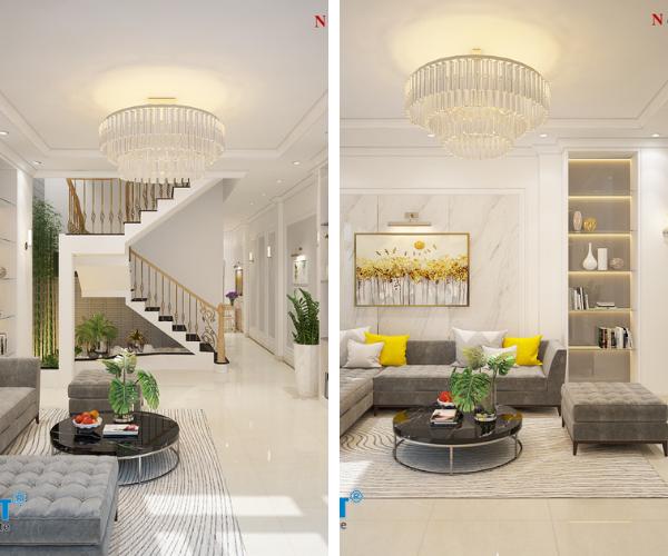 mẫu thiết kế nhà 4 tầng 2019