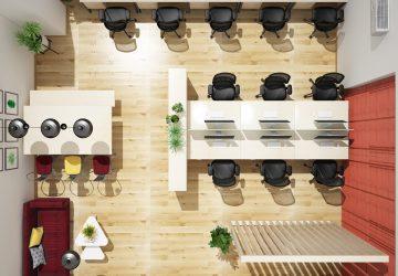 thiết kế nội thất văn phòng phong cách Nhật Bản