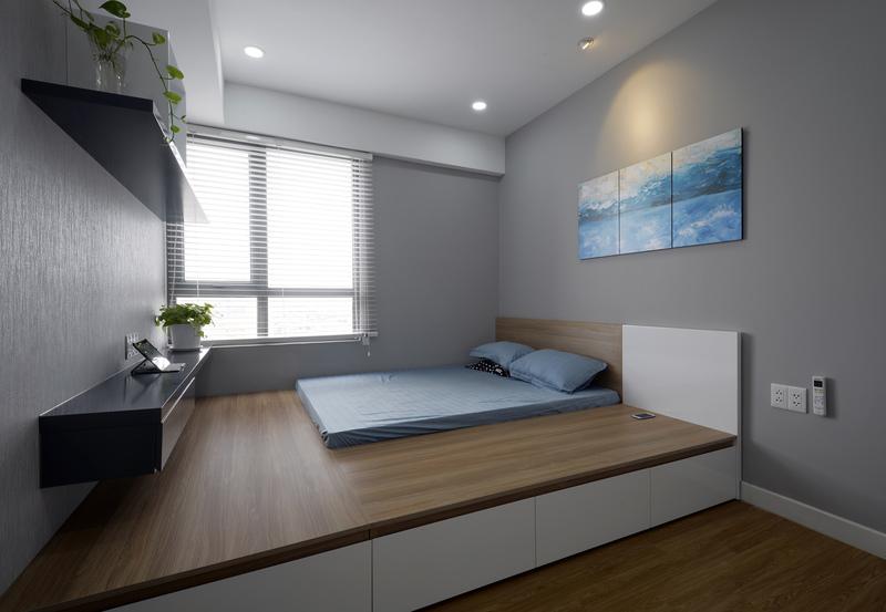 nội thất căn hộ xinh xắn