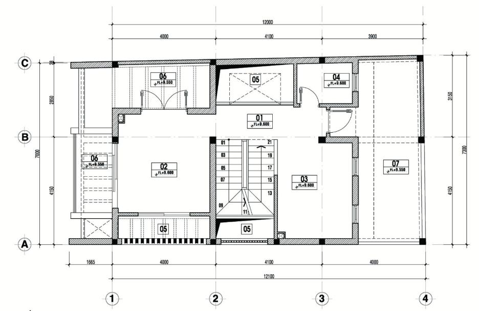 hoàn thiện nội thất nhà phố 1 trệt 3 lầu