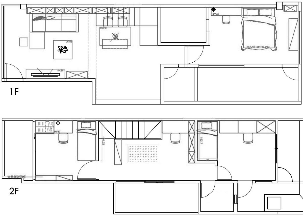 căn hộ chung cư hai tầng