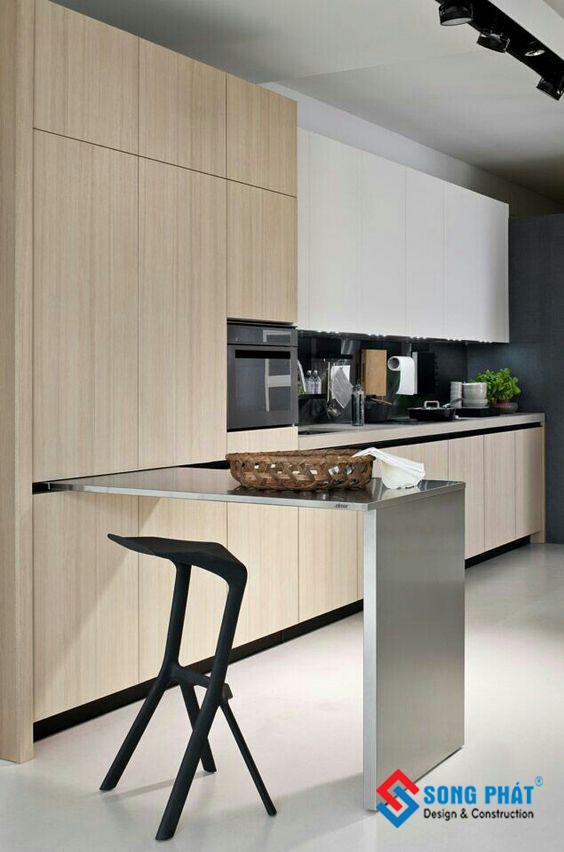 thiết kế không gian bếp 10