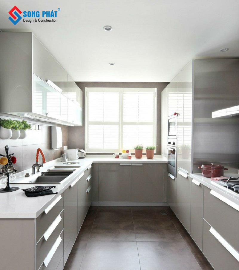 thiết kế không gian bếp 5