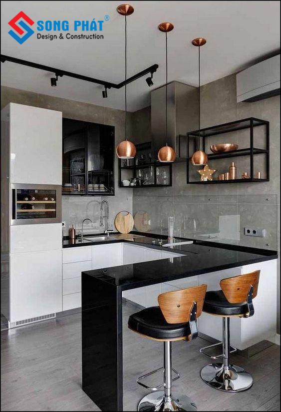 thiết kế không gian bếp 7