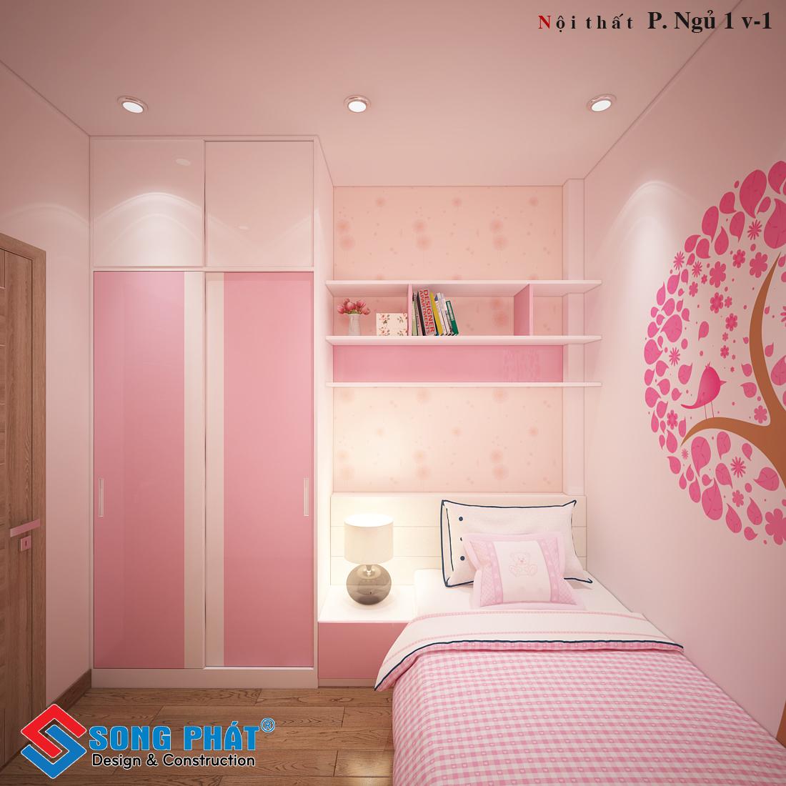 Phòng ngủ bé gái 1.